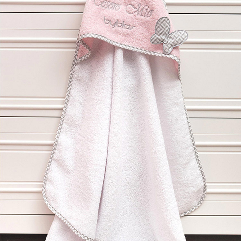 Κάπα Βρεφική Design 84 Butterfly Pink Byblos 0-2 ετών No 1