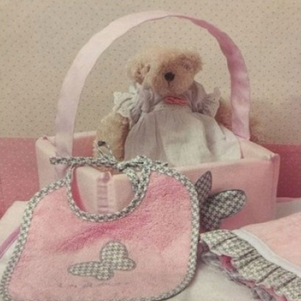 Καλαθάκι Καλλυντικών Design 84 Tesoro Mio Pink Byblos