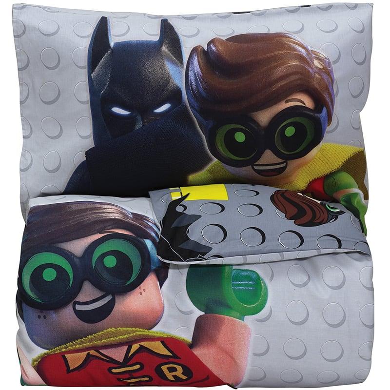 Κουβερλί Παιδικό Σετ 5004 Lego Batman Das Baby Μονό 160x240cm