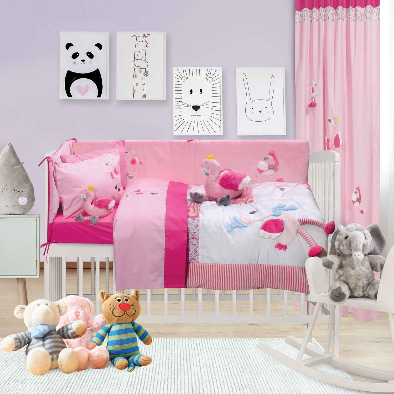 Πάντα Κούνιας 6464 Baby Dream Embroidery Das Baby 40x195cm