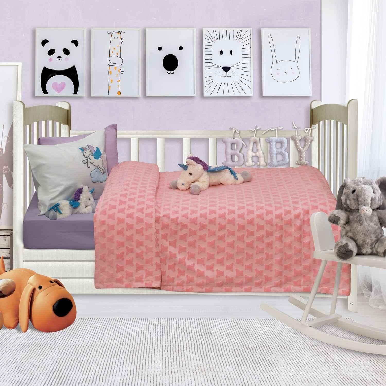 Κουβέρτα Βρεφική Ανάγλυφη 6468 Relax Das Baby Κούνιας 110x150cm