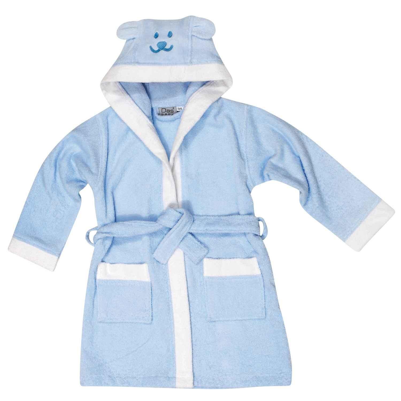 Μπουρνούζι Παιδικό 6473 Νο5-6 Baby Smile Embroidery Das Baby 4-6 ετών No 6