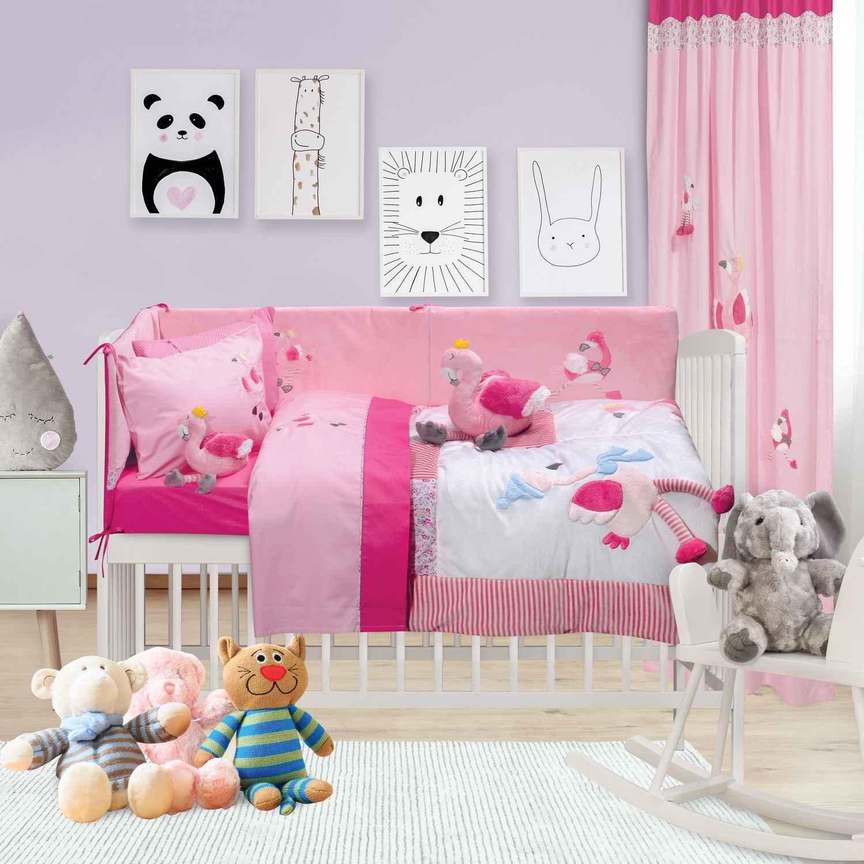 Κουβερλί Βρεφικό Σετ 6464 Baby Dream Embroidery Das Baby Κούνιας 110x150cm