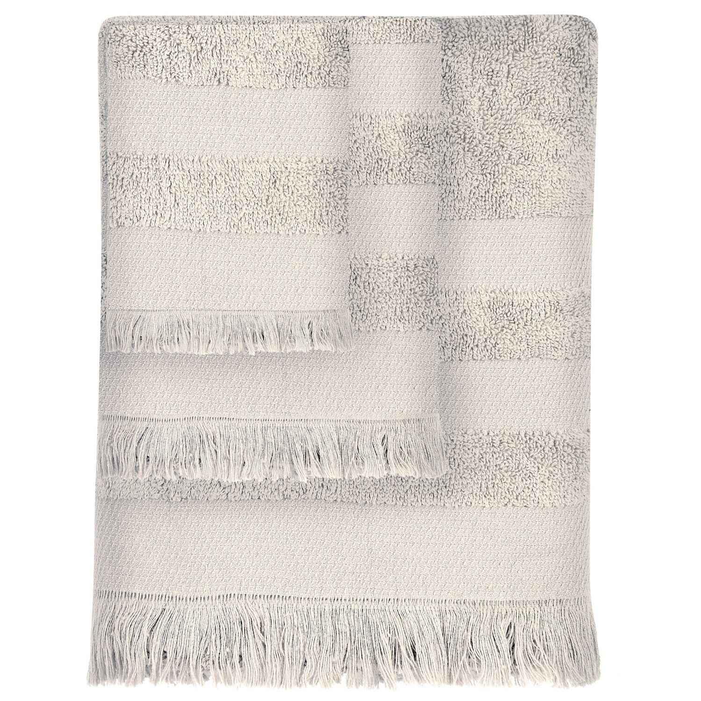 Πετσέτες Σετ 3τμχ 350 Simple Ecru Das Home Σετ Πετσέτες 30x50cm