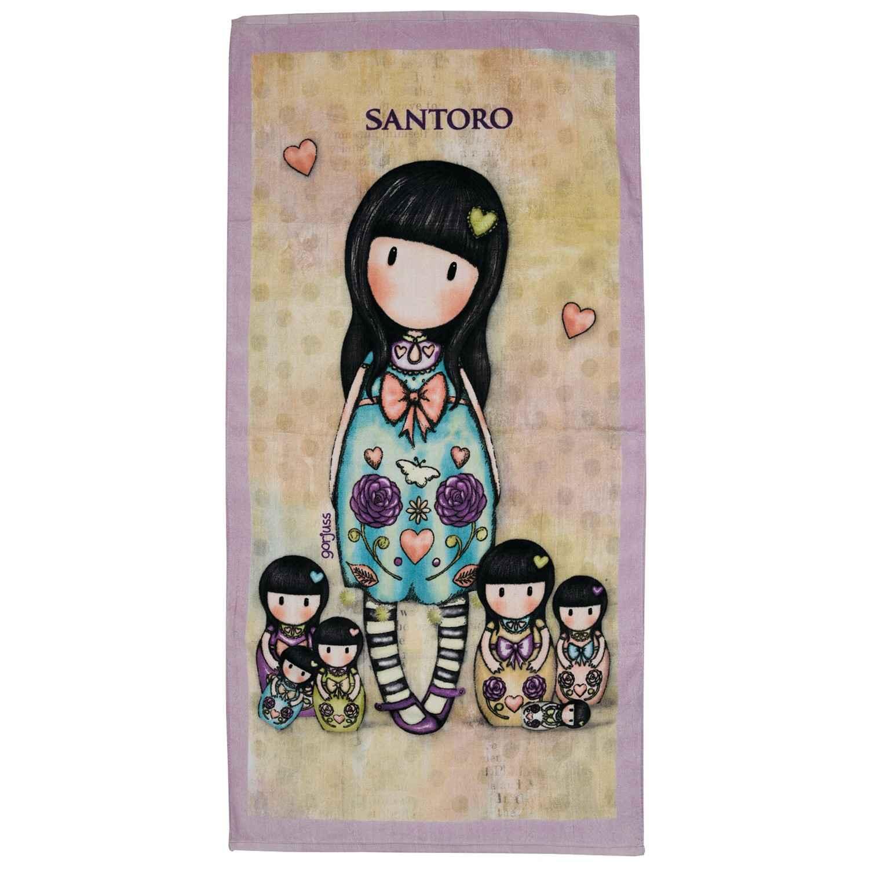 Πετσέτα Θαλάσσης Παιδική 5812 Santoro Das Baby Θαλάσσης 75x140cm
