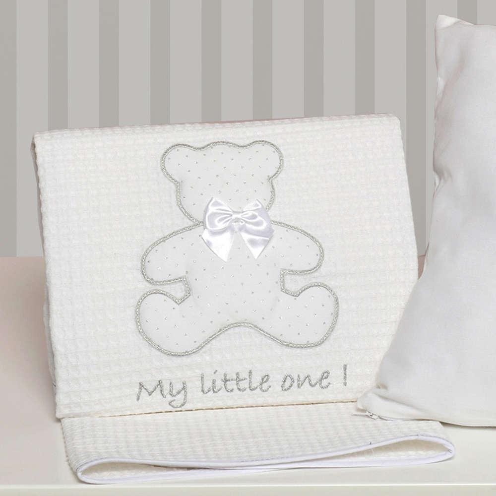 Κουβέρτα Βρεφική Πικέ Des. 330 My Little One Baby Oliver Αγκαλιάς 80x100cm