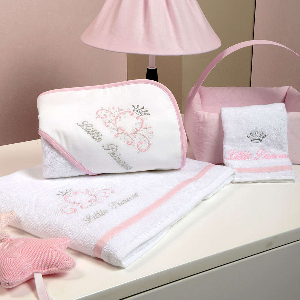 Πετσέτες Βρεφικές Σετ 2 Τεμ Des. 322 Little Princess Baby Oliver Σετ Πετσέτες