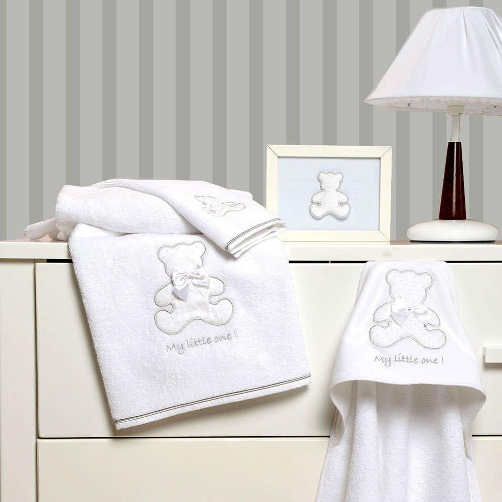 Πετσέτες Βρεφικές Σετ 2 Τεμ Des. 330 My Little One Baby Oliver Σετ Πετσέτες