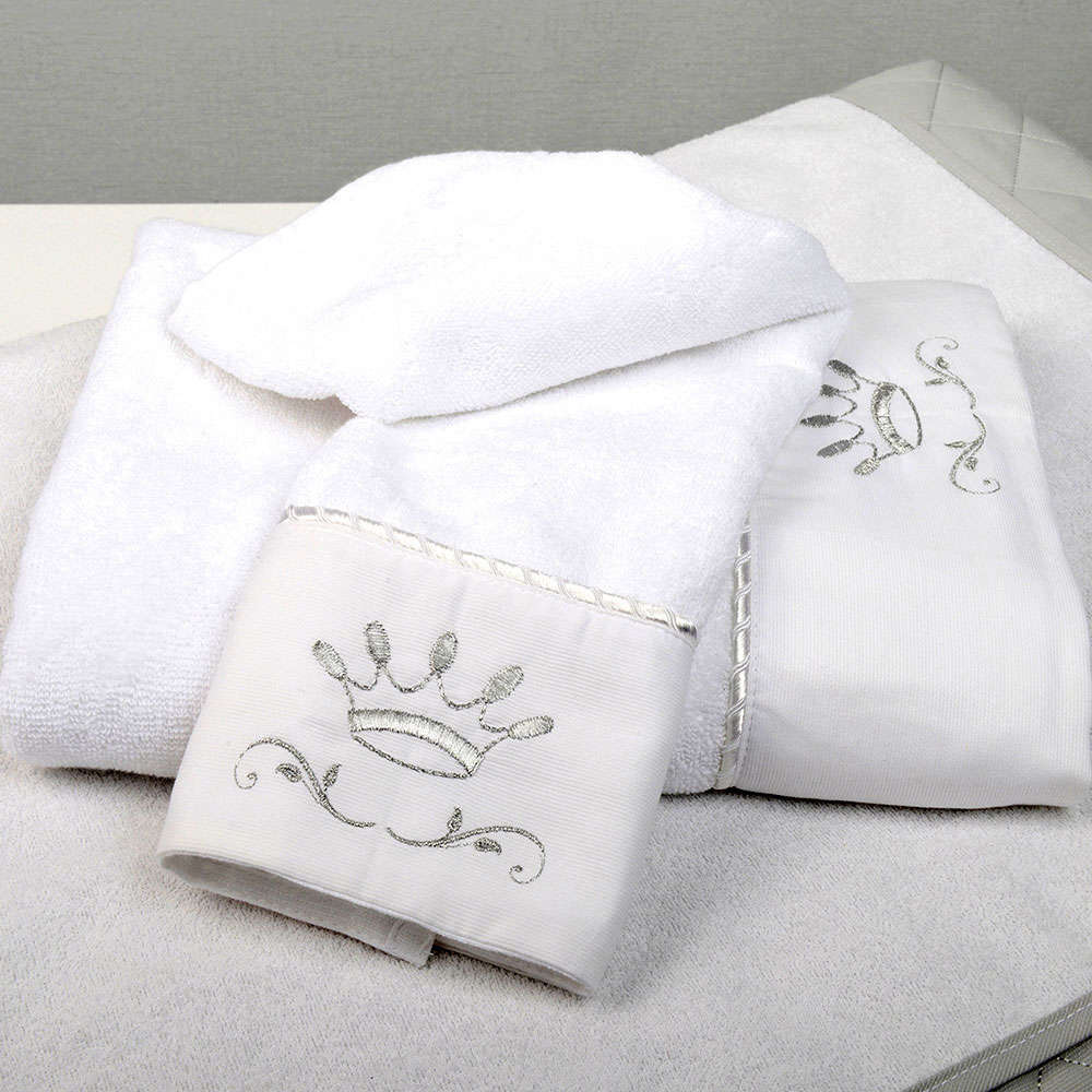 Πετσέτες Βρεφικές Σετ 2 Τεμ Des. 331 Royal Grey Baby Oliver Σετ Πετσέτες