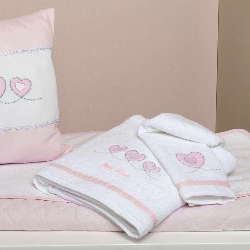 Πετσέτες Βρεφικές Σετ 2 Τεμ Des. 332 Sweet Hearts Baby Oliver Σετ Πετσέτες