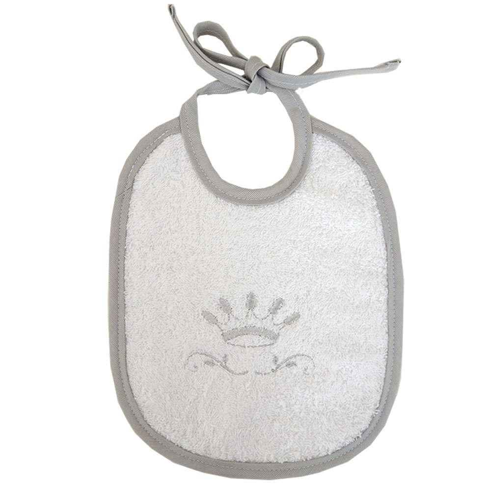 Σαλιάρα Βρεφική Des. 331 Royal Grey Baby Oliver