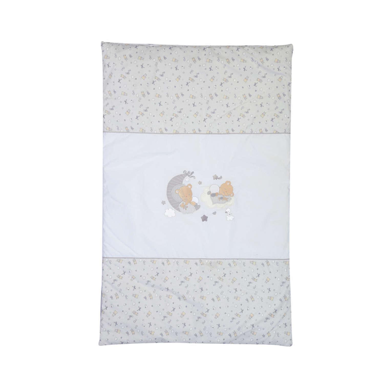 Κουβερλί Βρεφικό Happy Dreaming Grey Nef-Nef Κούνιας 90x140cm