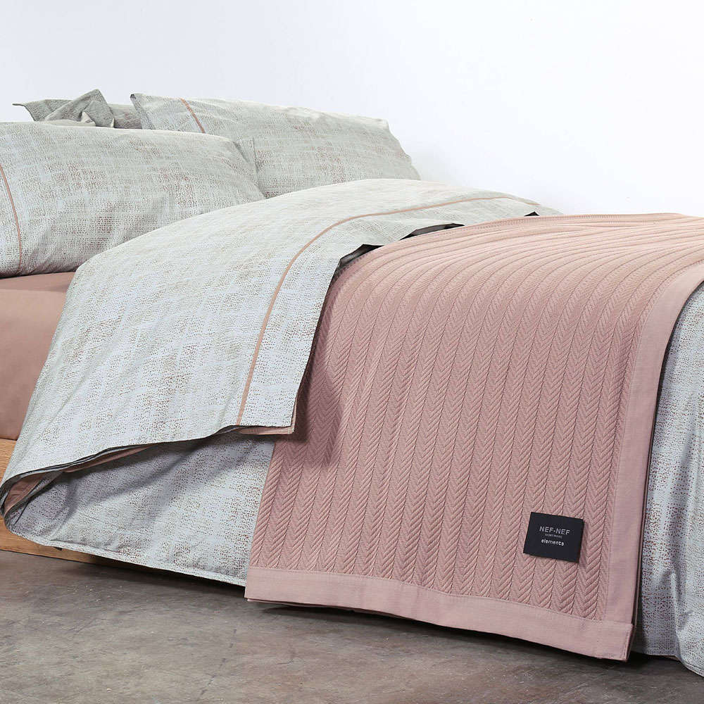 Κουβέρτα Fust Beige Nef-Nef Υπέρδιπλo 230x240cm