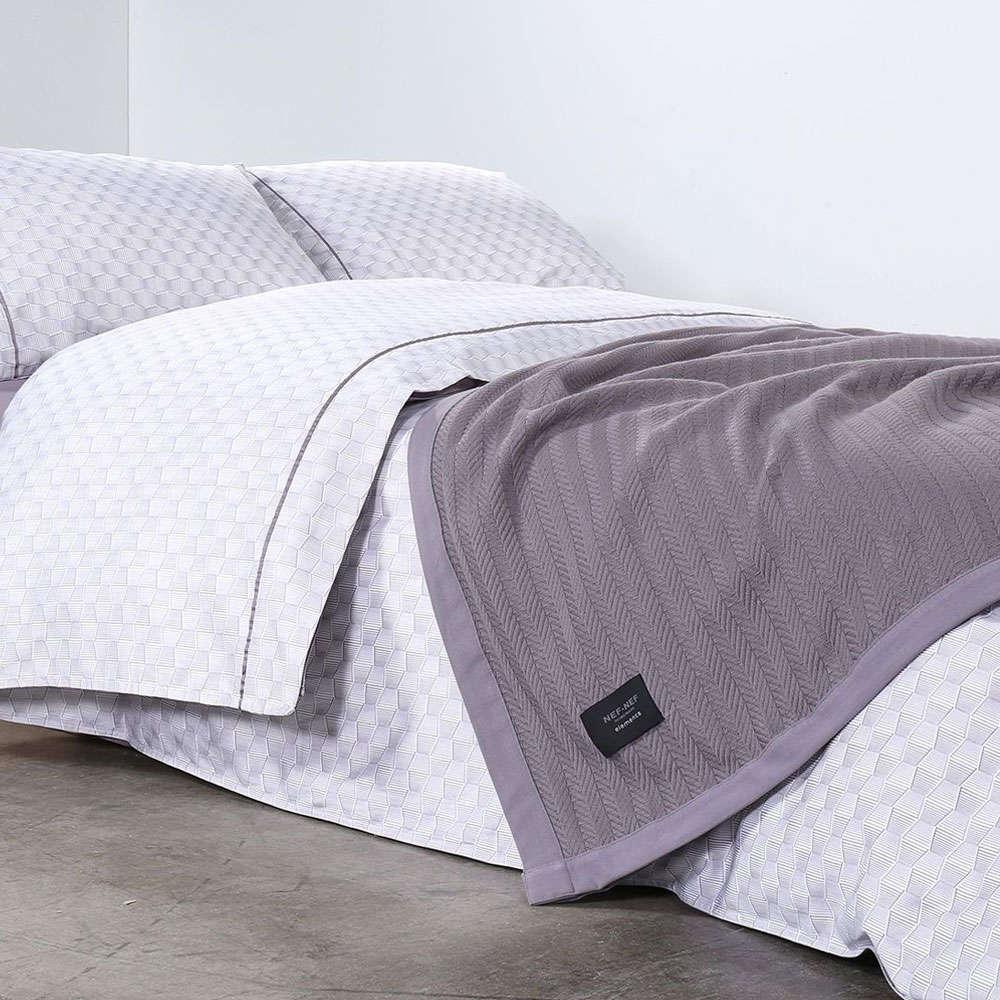 Κουβέρτα Fust Grey Nef-Nef Υπέρδιπλo 230x240cm