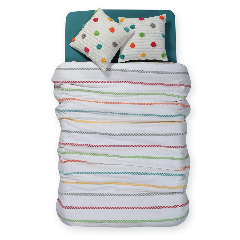 Κουβέρτα Παιδική Rainbow Multi Nef-Nef Μονό 160x240cm