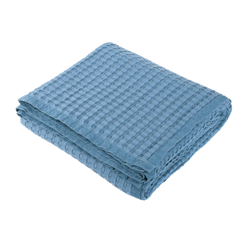 Κουβέρτα Πικέ Margo Blue Nef-Nef Υπέρδιπλo 230x240cm