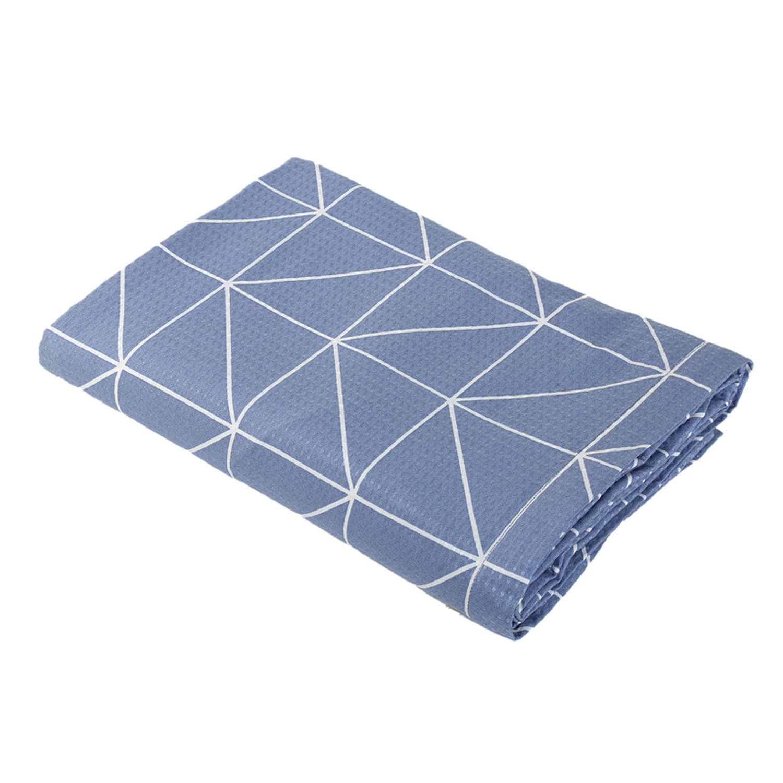 Κουβέρτα Πικέ Marsal Denim Nef-Nef Υπέρδιπλo 230x240cm