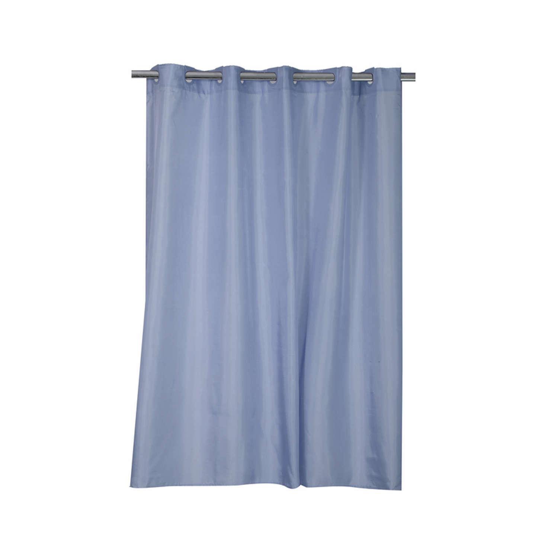 Κουρτίνα Μπάνιου Shower Denim Nef-Nef Φάρδος 180cm 180x180cm