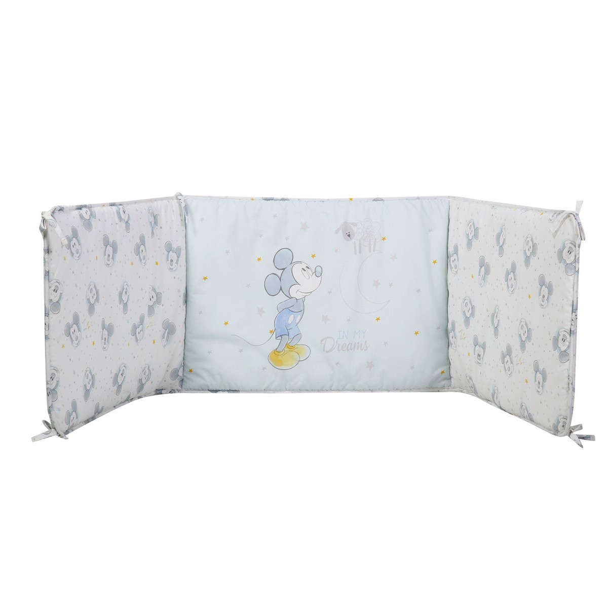 Πάντα Βρεφική Mickey's Dreams Light Blue Nef-Nef 60x67x60+40cm