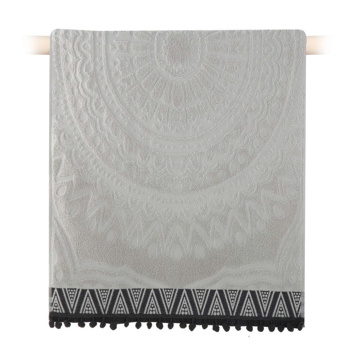 Πετσέτα Diego Grey Nef-Nef Προσώπου 50x90cm