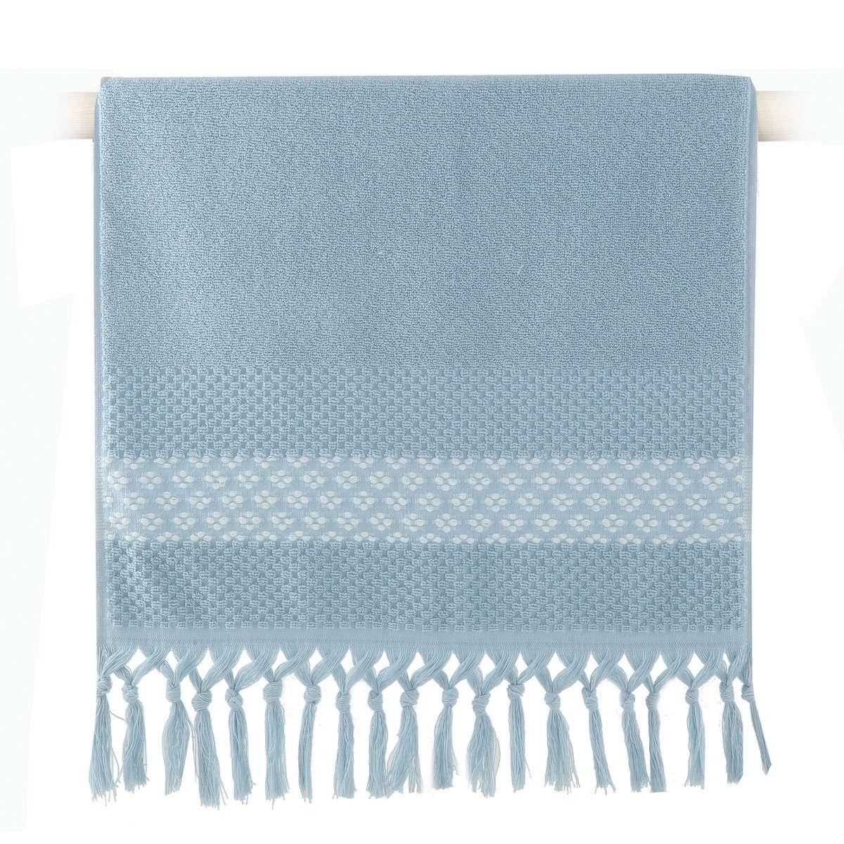 Πετσέτα Elvia Light Blue Nef-Nef Σώματος 70x140cm