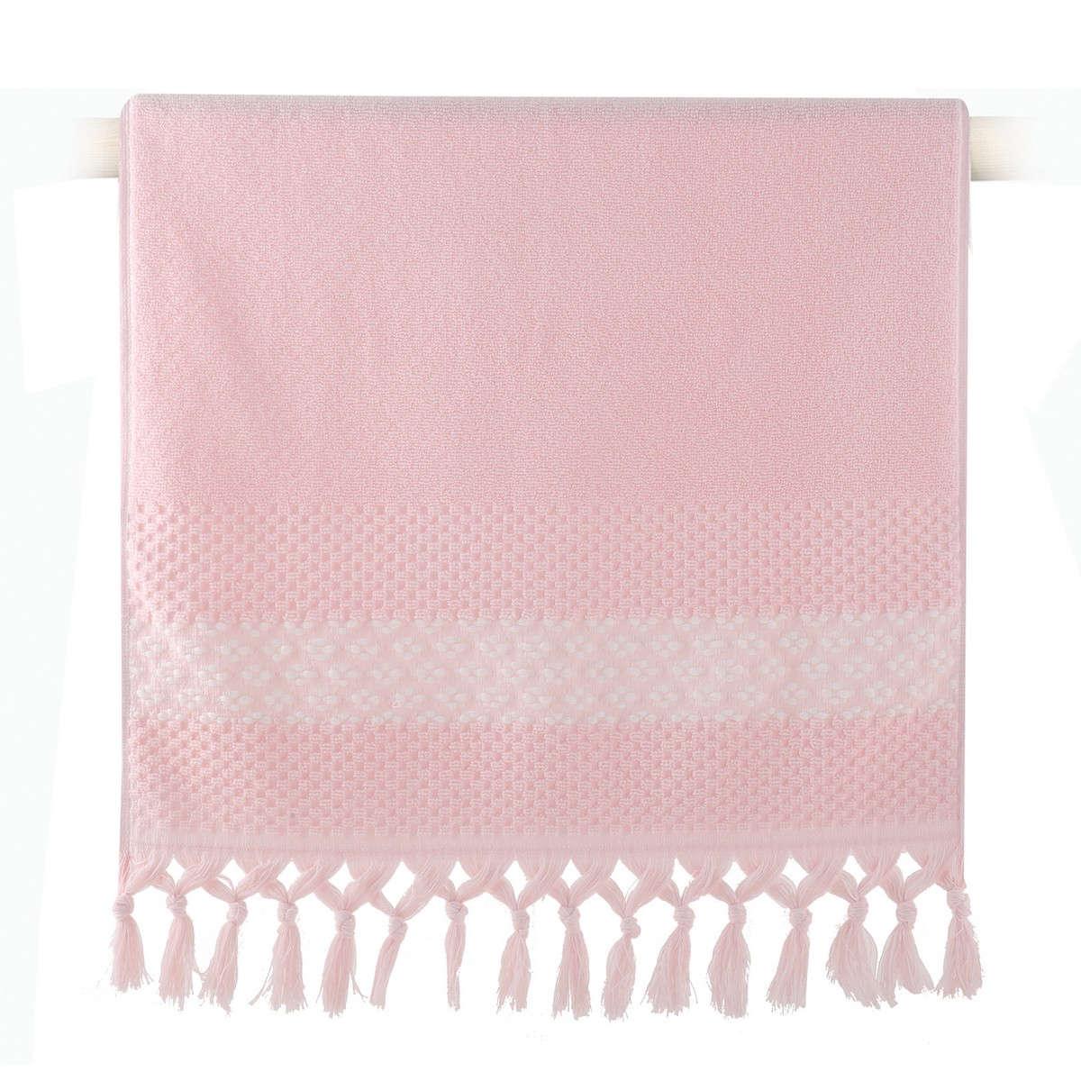 Πετσέτα Elvia Pink Nef-Nef Προσώπου 50x90cm