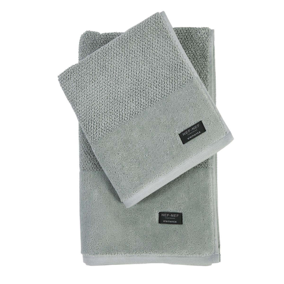 Πετσέτα Rusty Spring Grey Nef- Nef Σώματος 80x160cm