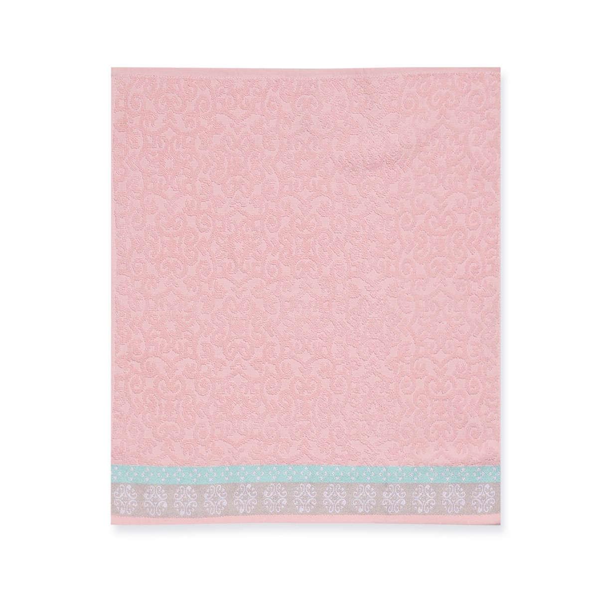 Ποτηρόπανο Terry-Pike Donanim Pink Nef-Nef 50x50cm
