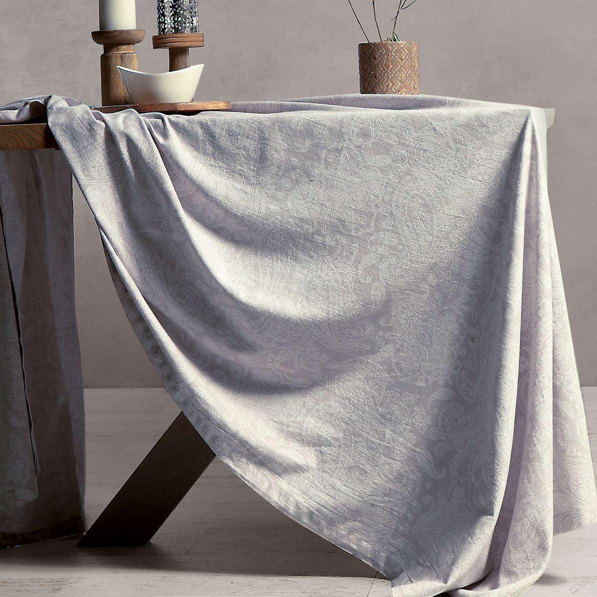 Τραπεζομάντηλο Sairus Light Grey Nef-Nef 150X250 150x250cm