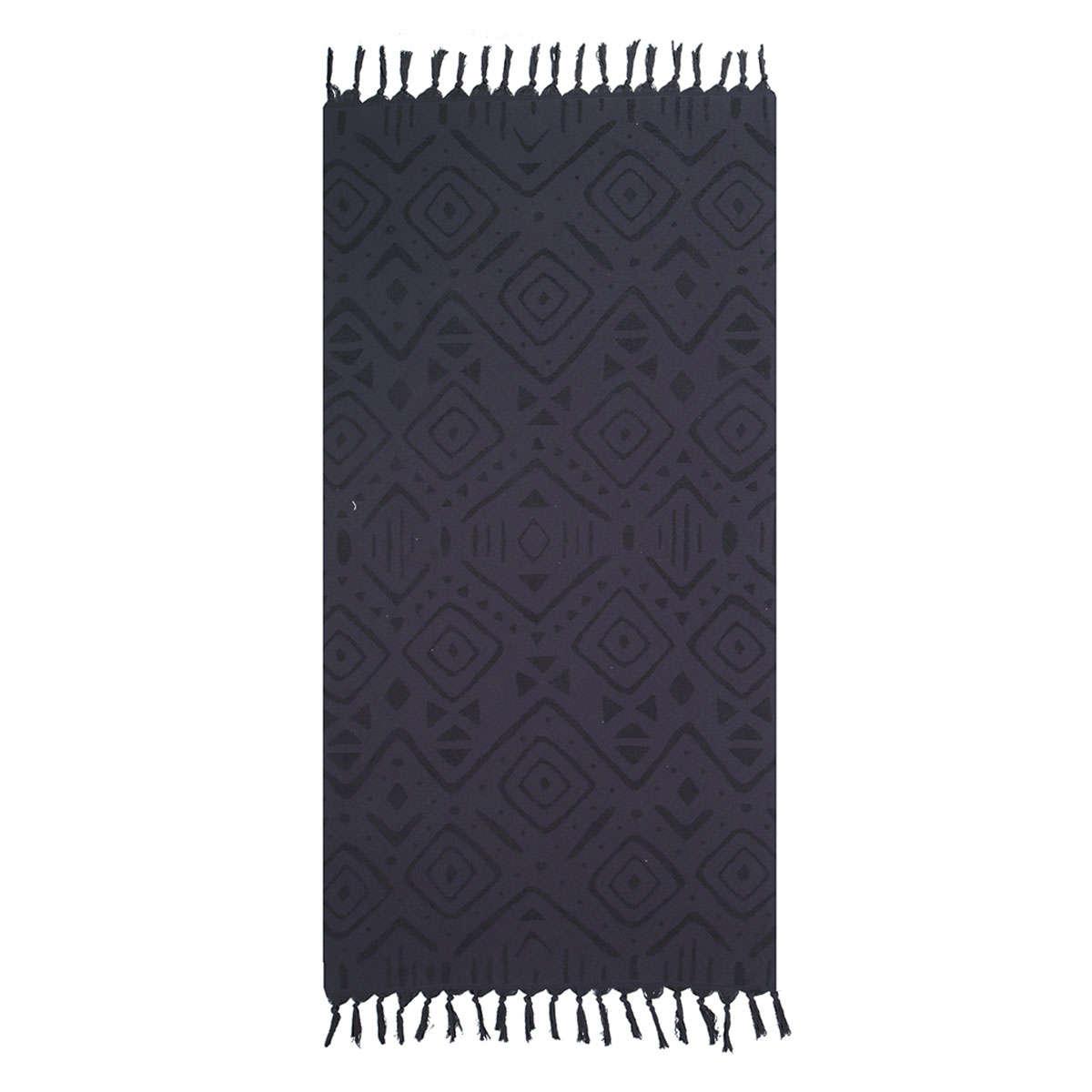 Πετσέτα Θαλάσσης True Black Nef-Nef Θαλάσσης 90x170cm