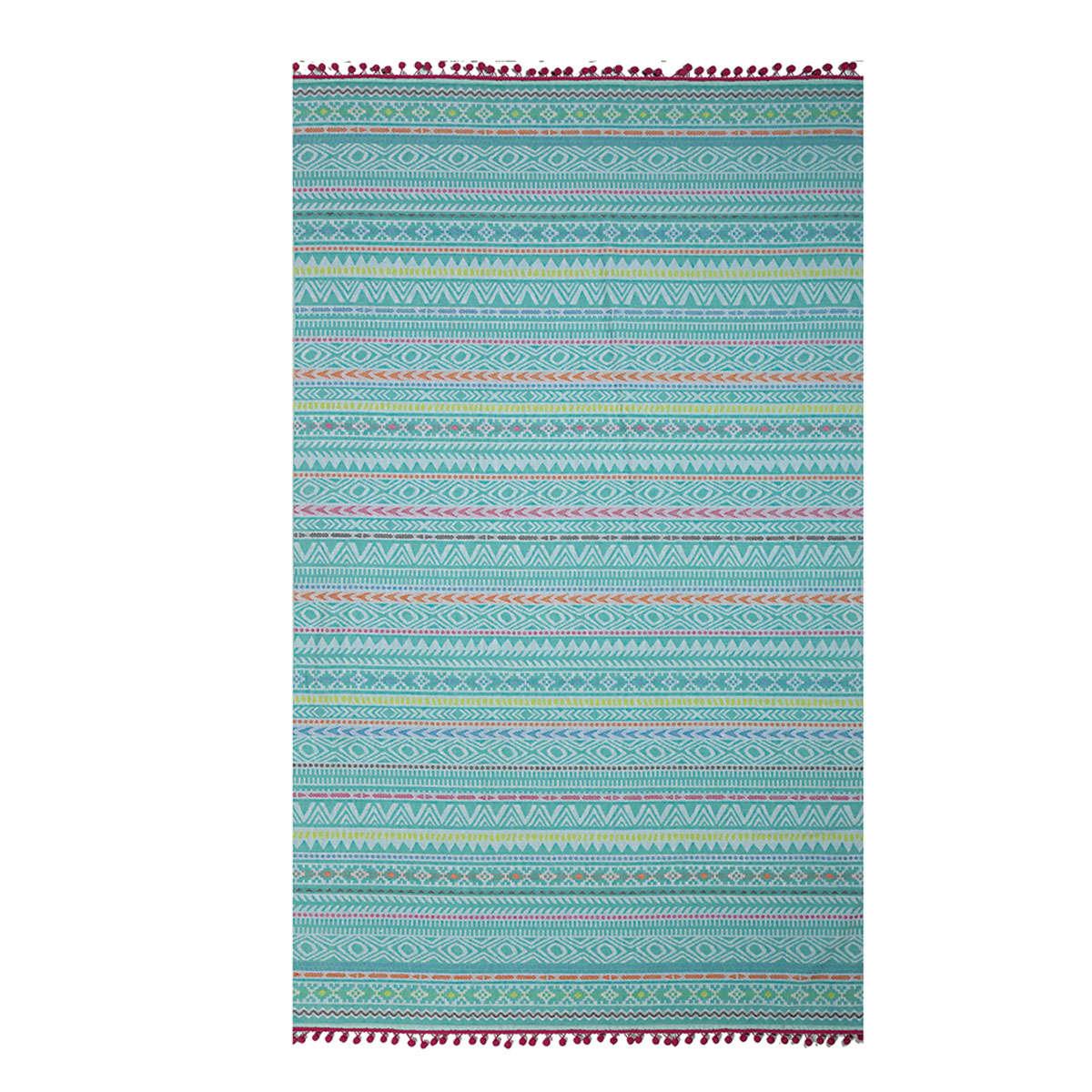Πετσέτα Θαλάσσης Drawings Turqoise Nef-Nef Θαλάσσης 100x180cm