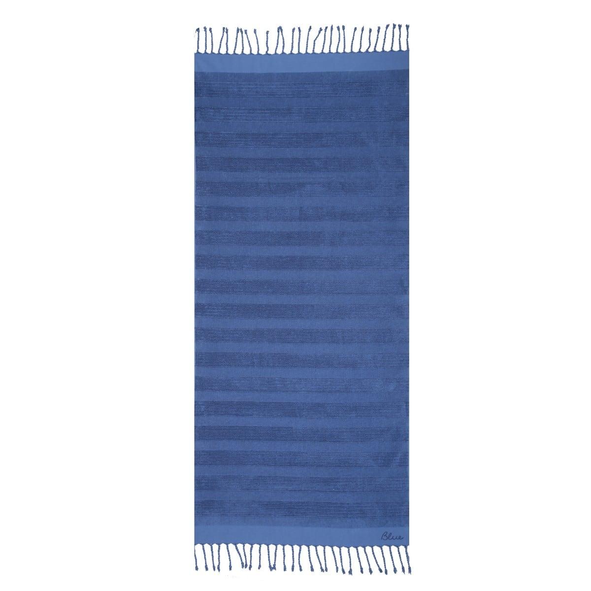 Πετσέτα Θαλάσσης Belinda Blue Nef-Nef Θαλάσσης 90x170cm