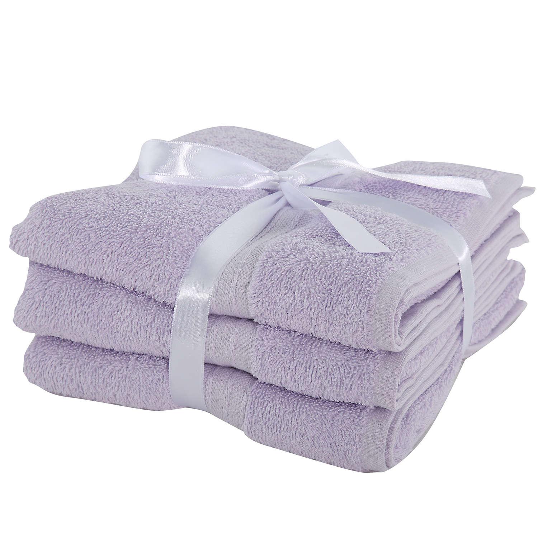 Πετσέτες Σετ 3Τμχ Cosy Lavender Nef Nef Σετ Πετσέτες