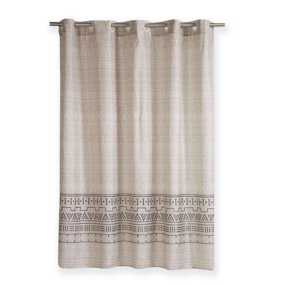 Κουρτίνα Μπάνιου Hartum Linen Nef Nef Φάρδος 180cm 180x180cm
