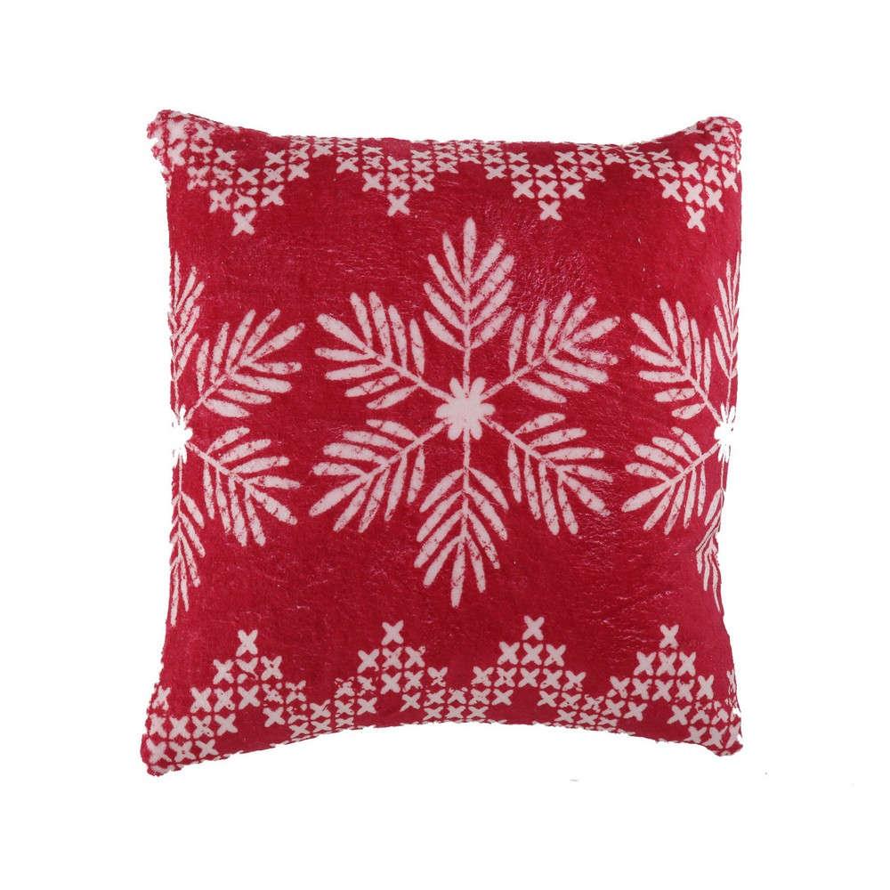 Μαξιλάρι Διακοσμητικό Greetings Red (Με Γέμιση) Nef Nef 45X45 100% Polyester