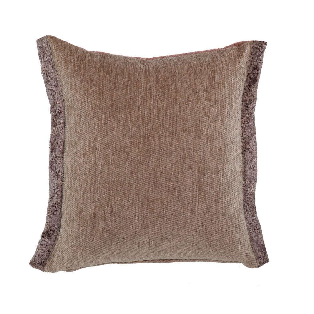 Μαξιλάρι Διακοσμητικό New Tanger Brown-Beige (Με Γέμιση) Nef Nef 45X45 Ακρυλικό-Polyester