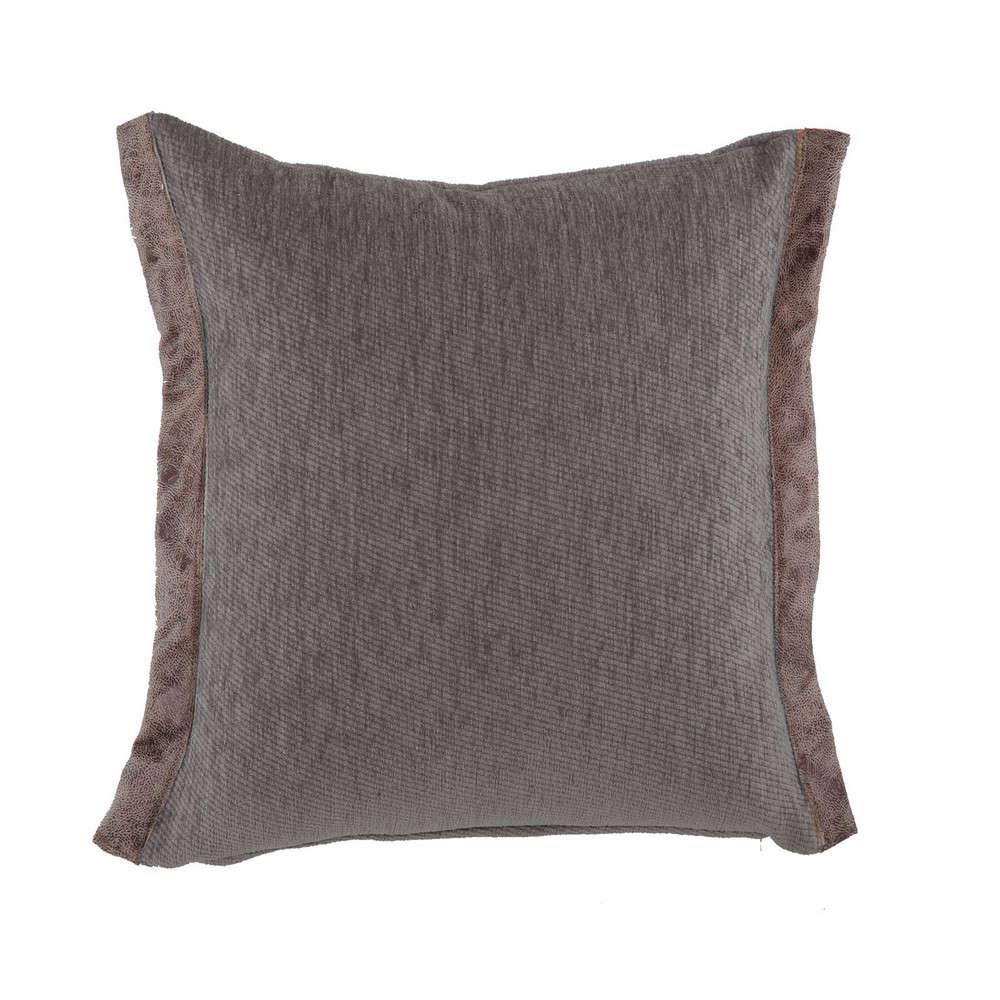Μαξιλάρι Διακοσμητικό New Tanger Grey (Με Γέμιση) Nef Nef 45X45 Ακρυλικό-Polyester