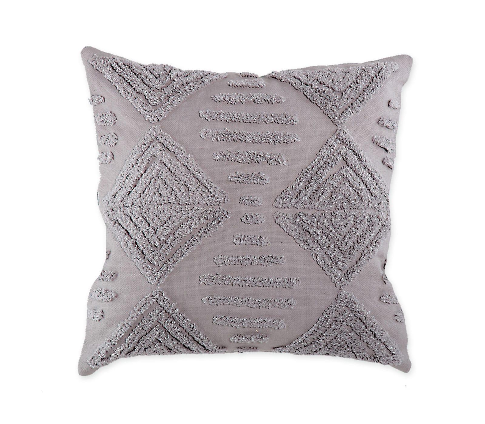 Μαξιλάρι Διακοσμητικό Retro Grey (Με Γέμιση) Nef Nef 45X45 100% Βαμβάκι