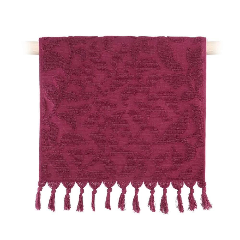 Πετσέτα Kynthia Bordo Nef Nef Χεριών 30x50cm