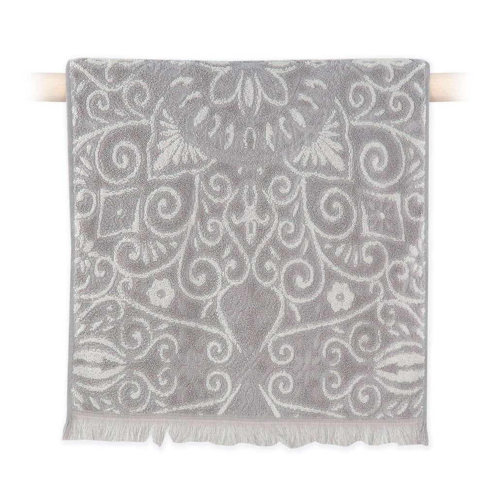 Πετσέτα Realta Grey Nef Nef Σώματος 70x140cm