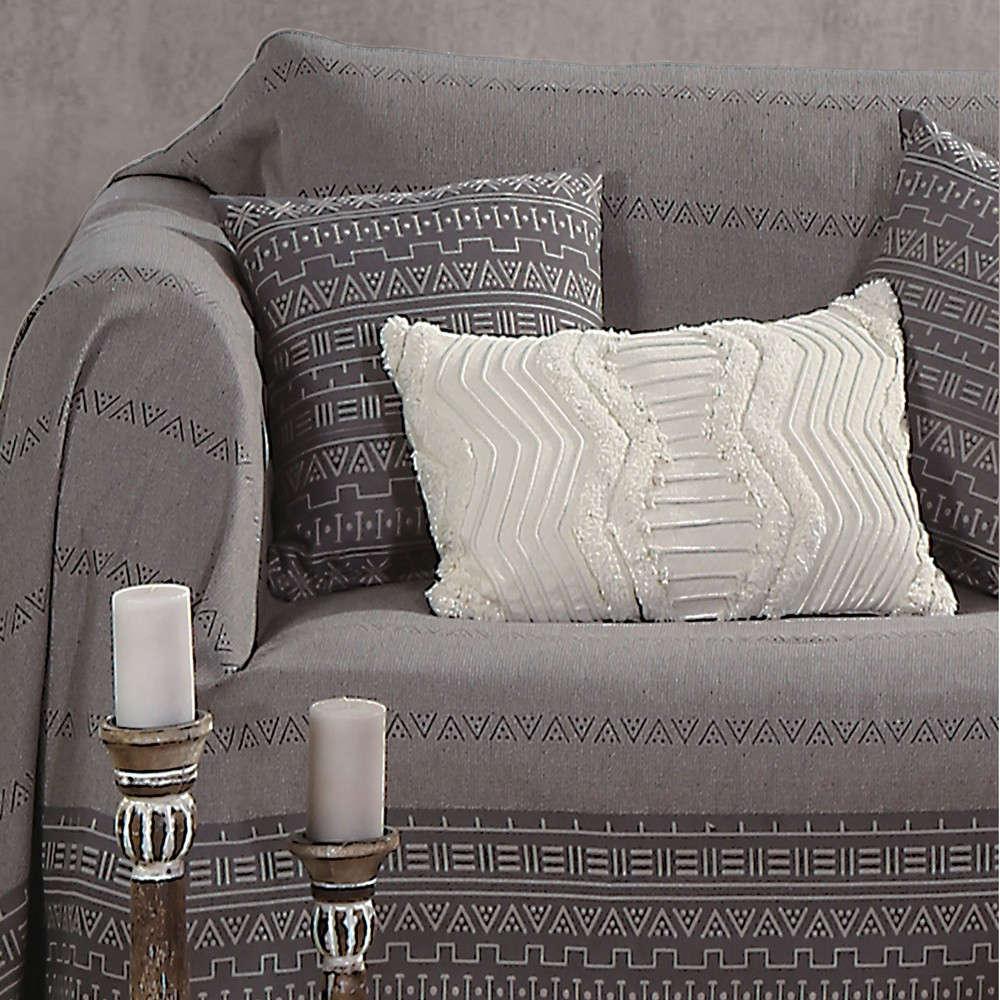 Ριχτάρι Hartum Grey Nef Nef Διθέσιο 170x250cm