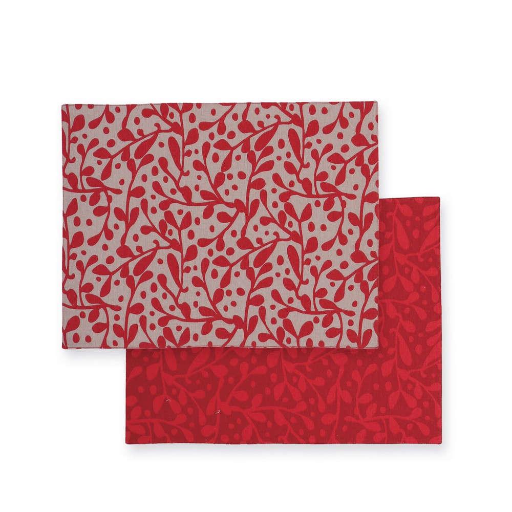 Σουπλά Cosy Winter Grey-Red Nef Nef 33x48cm