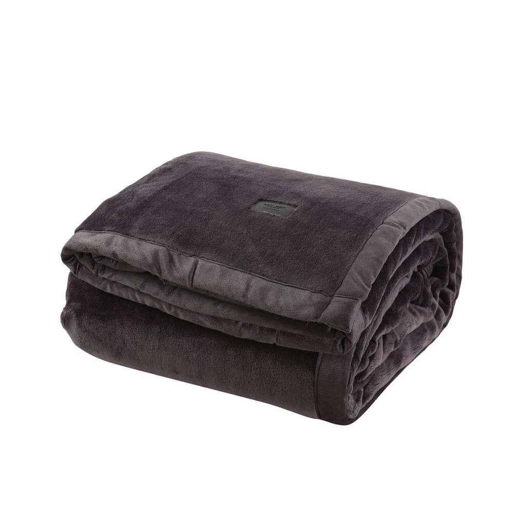 Κουβέρτα Velosso Anthracite Nef Nef Υπέρδιπλo 230x240cm