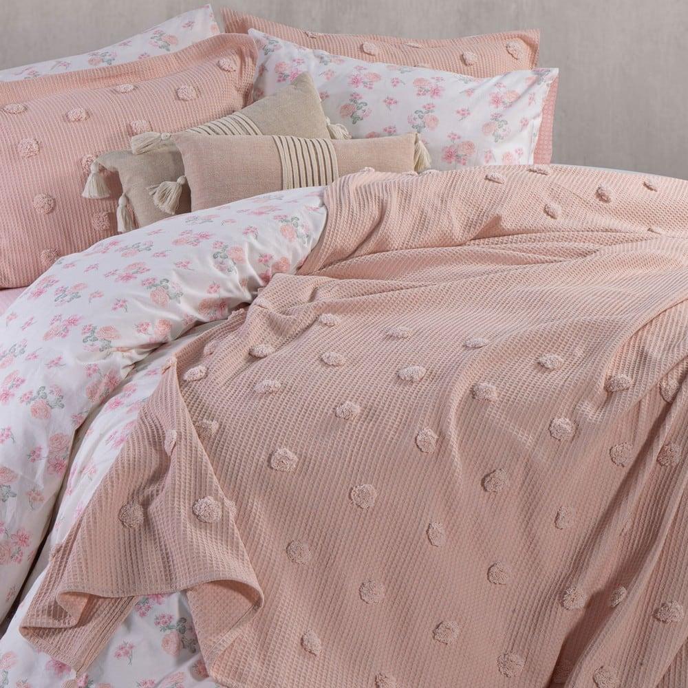 Κουβέρτα Indila English Rose Nef-Nef Υπέρδιπλo 230x240cm