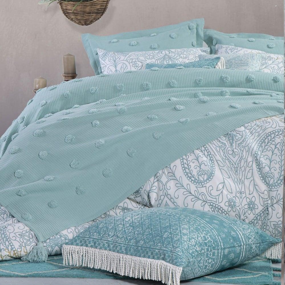 Κουβέρτα Indila Light Blue Nef-Nef Υπέρδιπλo 230x240cm