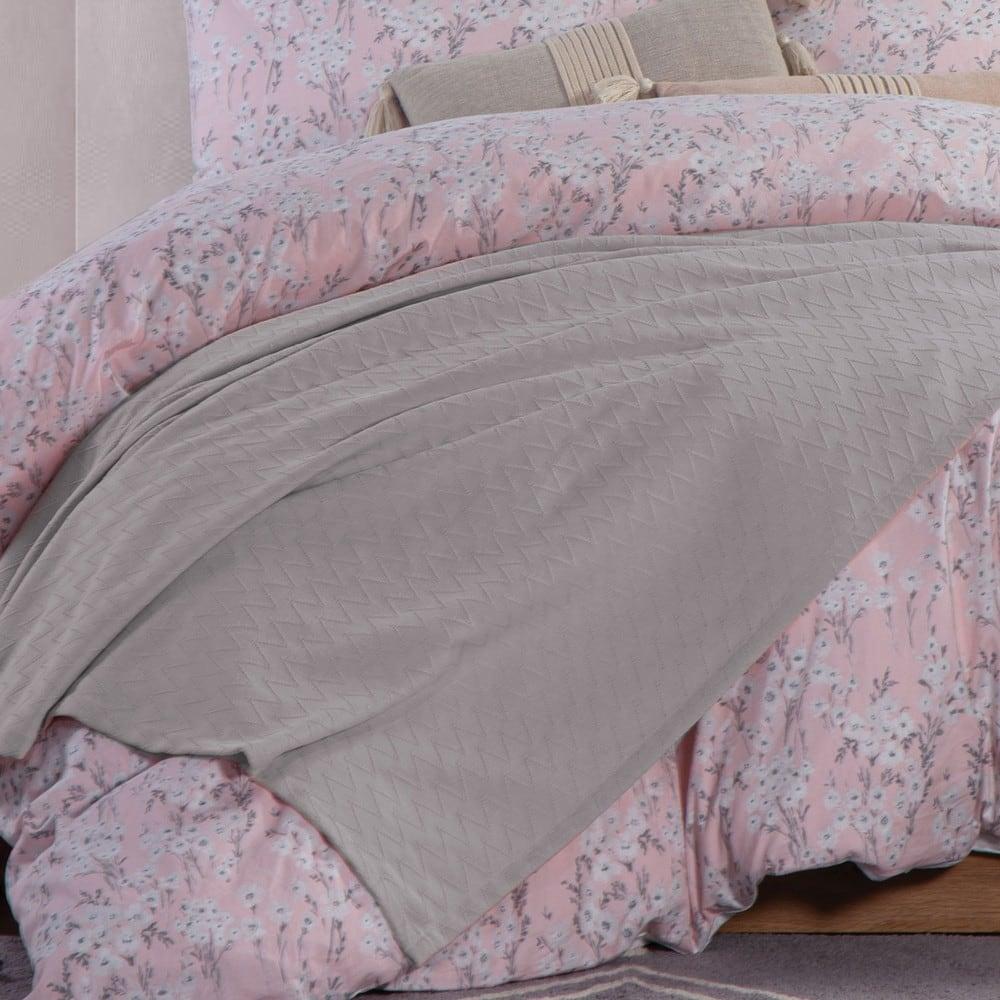 Κουβέρτα Summer 20 Silver Grey Nef-Nef Υπέρδιπλo 230x240cm