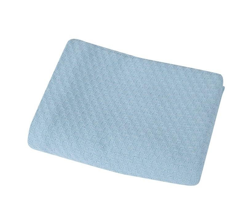 Κουβέρτα Βρεφική Smooth Blue Nef-Nef Αγκαλιάς 80x110cm
