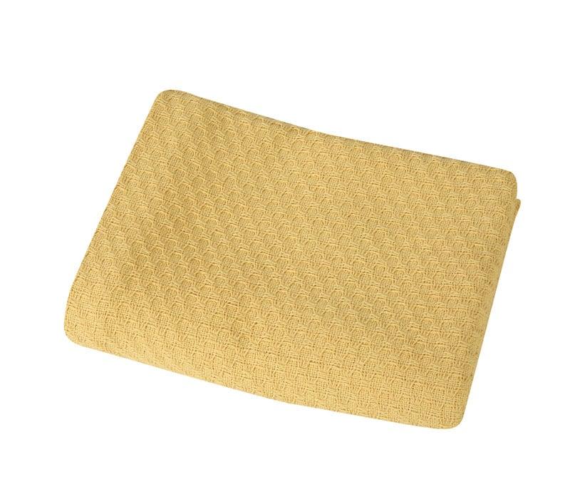 Κουβέρτα Βρεφική Smooth Mustard Nef-Nef Αγκαλιάς 80x110cm