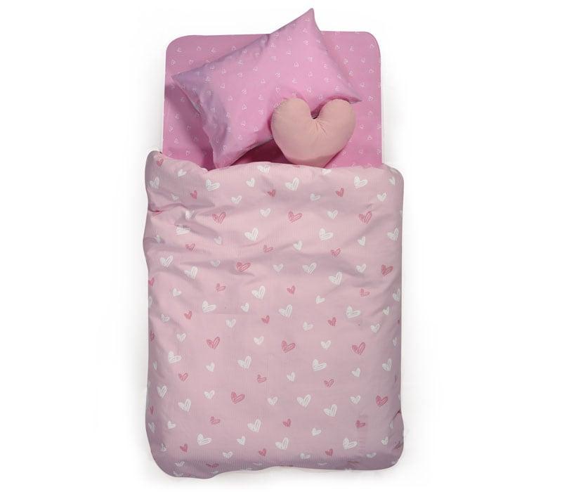 Κουβέρτα Παιδική Πικέ L'amour Pink Nef-Nef Μονό 160x240cm