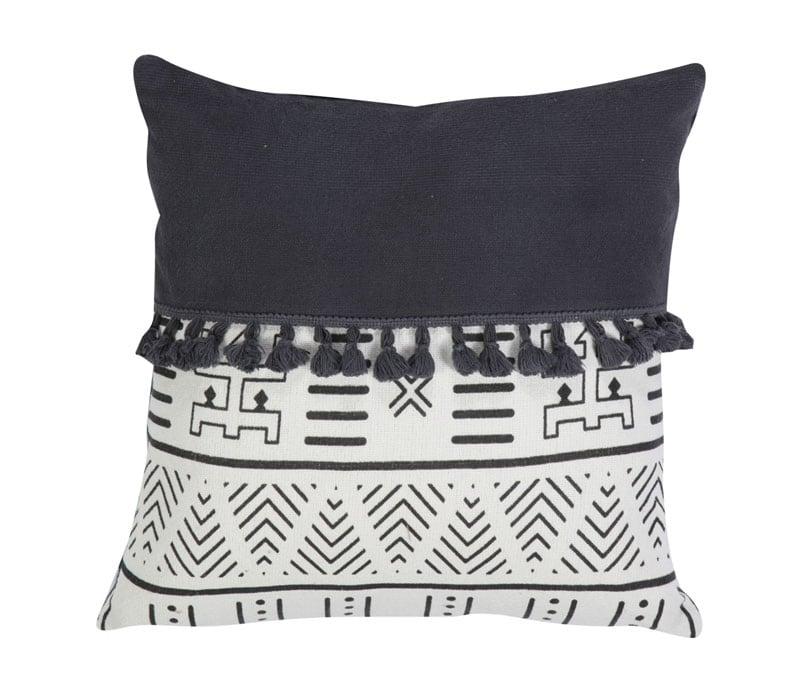Μαξιλάρι Διακοσμητικό (Με Γέμιση) Bernice Black Nef-Nef 50X50 100% Polyester